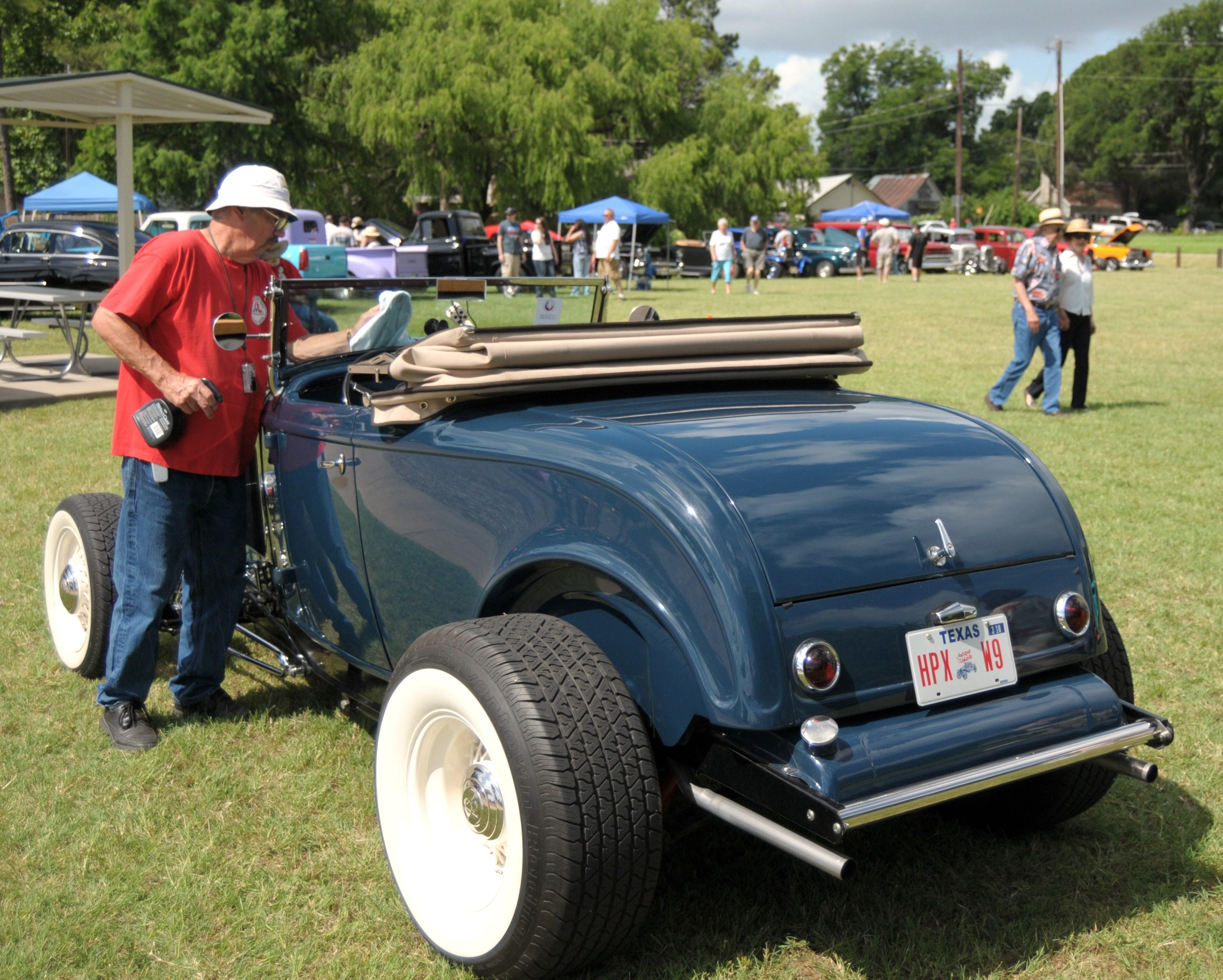 LSSRA State Run At Granbury Texas DEUCE DIARY - Granbury car show