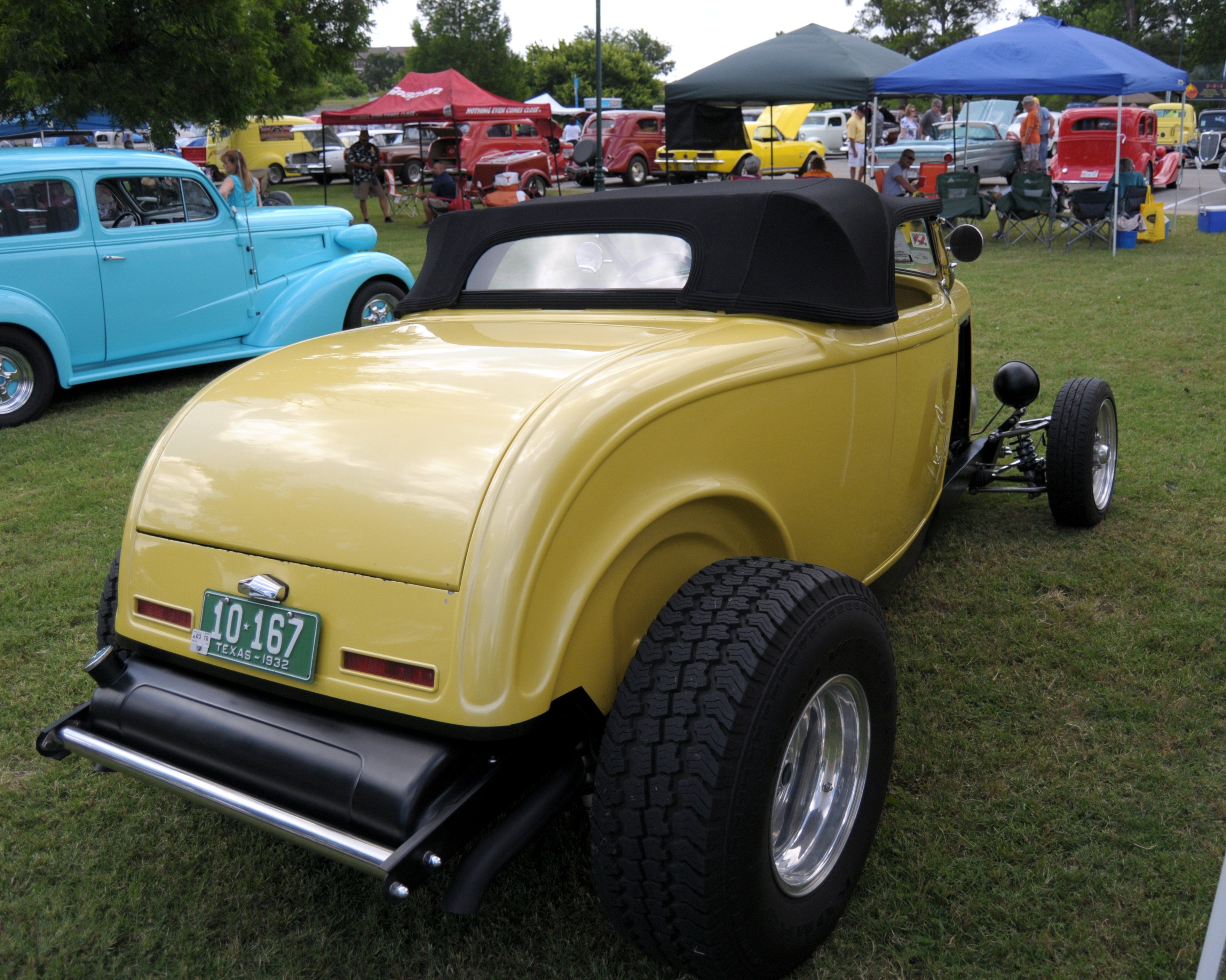 LSSRA State Run At Granbury Texas DEUCE DIARY - Granbury car show